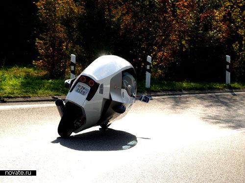 Гибридный мотоцикл «Monotracer»