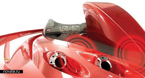 Автомобиль Monza из будущего