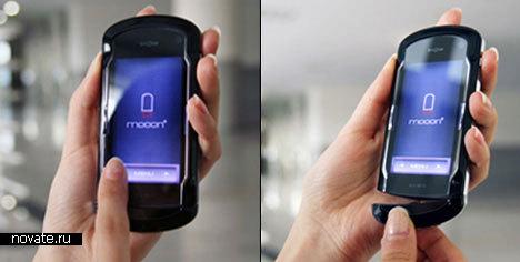 Концепт мобильного телефона Mooon+