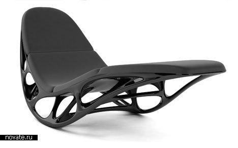 Кресло MORPHOGENESIS LOUNGE CHAIR от Timothy Schreiber