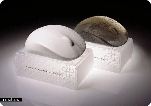 Мыло в виде компьютерной мышки