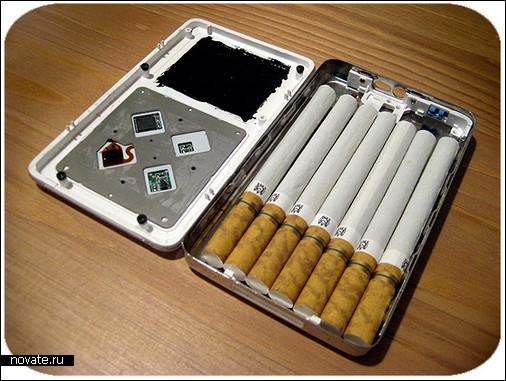 Шпионы хранят сигареты в плеере
