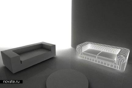 Светящийся диван «Mr. Hyde»