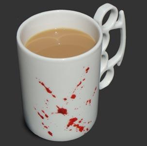 «Кровавая чашка» от Thabto