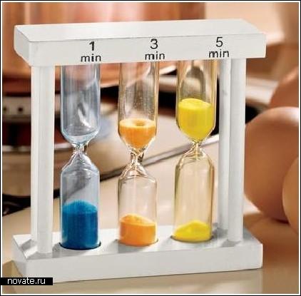 Песочный таймер для кухни