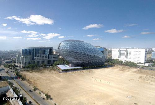 «Здание-яйцо» в Индии