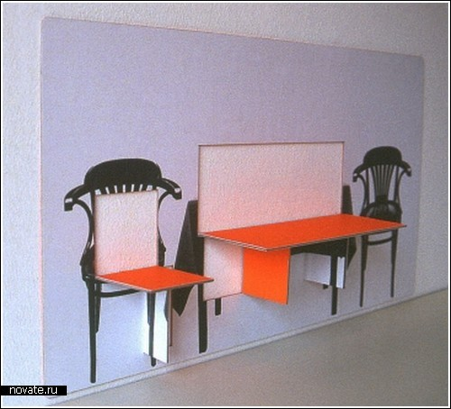 Мебель в стенке для маленьких квартир