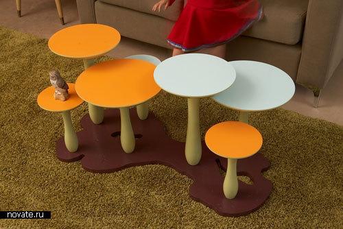 Грибной столик