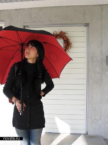 Зонтик с музыкой
