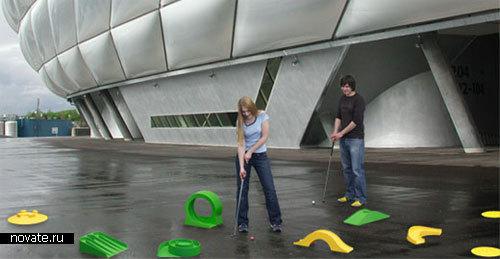 Мини-гольф для офиса и дома