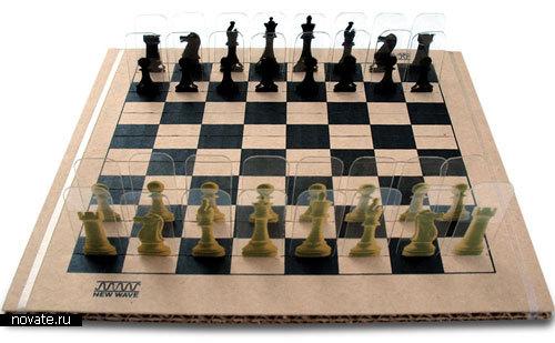 Пластиковые шахматы