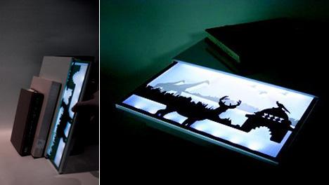 светящаяся панель от Sun-hwa Kyung