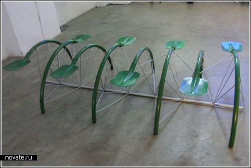Скамейки от Nic Roex