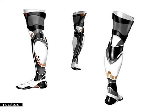 Модернизированный протез для спортсменов