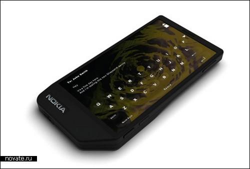 Тачскрин с кнопочками от Nokia