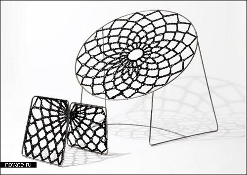 Кресло-гамак в форме круга