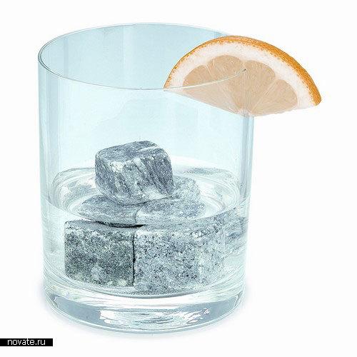«Скандинавские камни» для охлаждения напитков