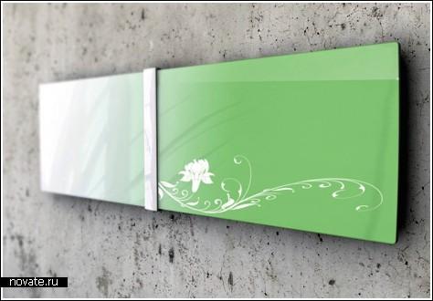 Воздухоочиститель или картина на стене?