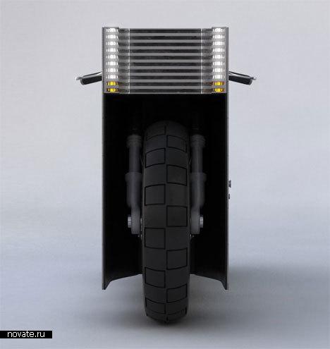 Электрический мотоцикл «nUCLEUS»