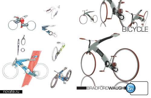 Концепт велосипеда от Bradford Waugh