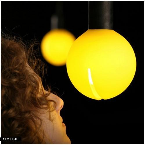 Лампа-Pacman с запахом