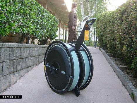 Сумка с очень большими колесиками