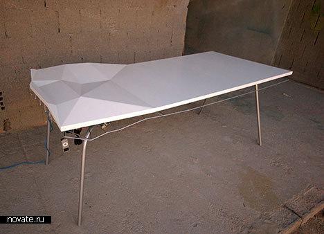 Бардак под столом