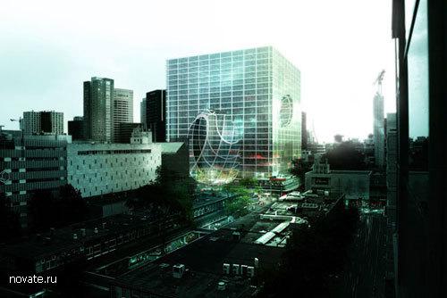 Здание-куб в Роттердаме