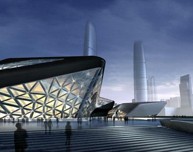 Дом оперы в Гуанжоу