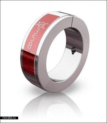 Гарнитура, складывающаяся в кольцо