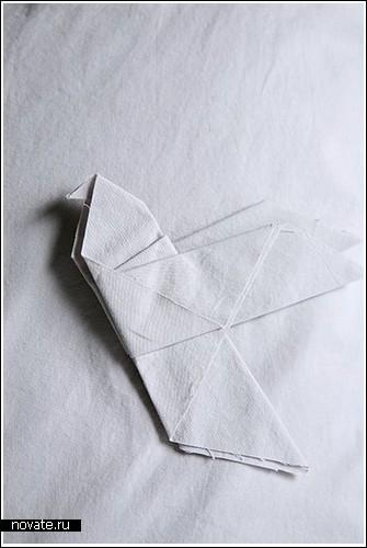 Оригами теперь и на подушках
