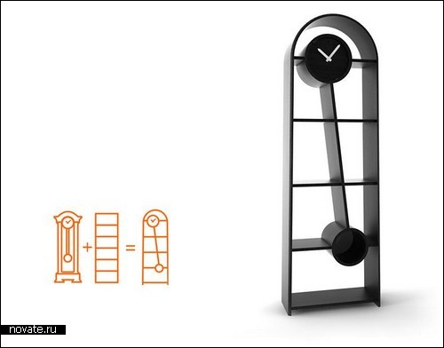 Ретро-часы с полкой в придачу от Яра Рассадина