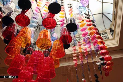 Коллекция пластиковой посуды от Pandora design