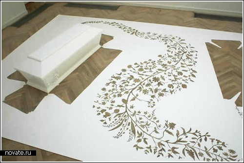 Бумажный арт из Дании
