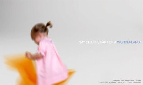 детские стульчики от Simon Joyau