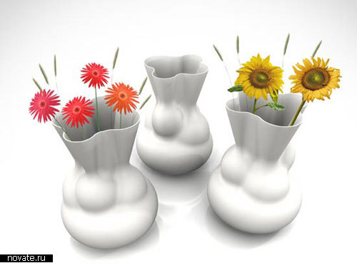 Стол-ваза «Парадокс» от Sander Brouwer