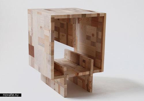 Лоскутная мебель