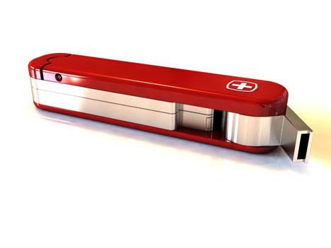 Многофункиональное устройство первой помощи «Swiss Peace Knife» от Qian Jiang, Yiying Wu and  Carolina  Flores