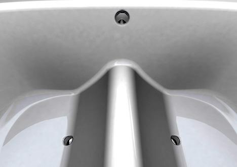 ванна с разделителем от Lyndon Craig