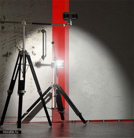 «Перспективная лампа» от Transparent House