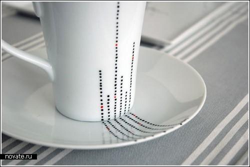 «Пунктирная» посуда от Melanie Brument