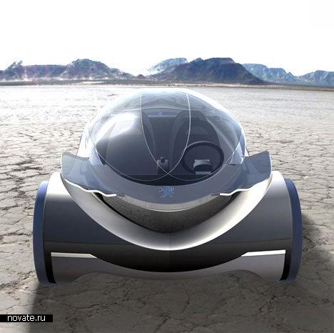 Автомобиль будущего от Peugeot
