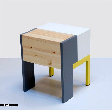 Мебель из металла и дерева