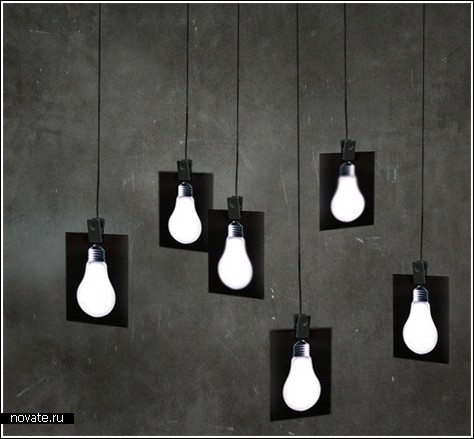 Плоские лампы-карточки