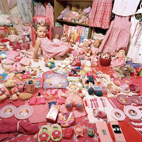 Детская комната в розовом стиле