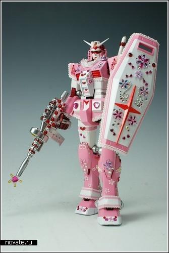 Гламурный робот