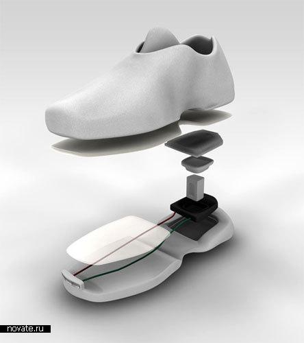 Ботинки с фарами «Pioneer»