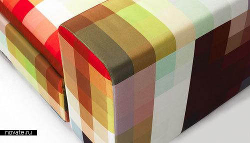 Диван «Пиксель» от Cristian Zuzunaga