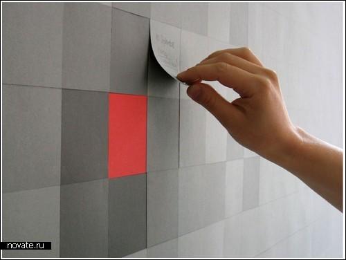 Пиксельные обои своими руками