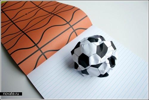 Спортивные блокноты «Играй еще, еще и еще»